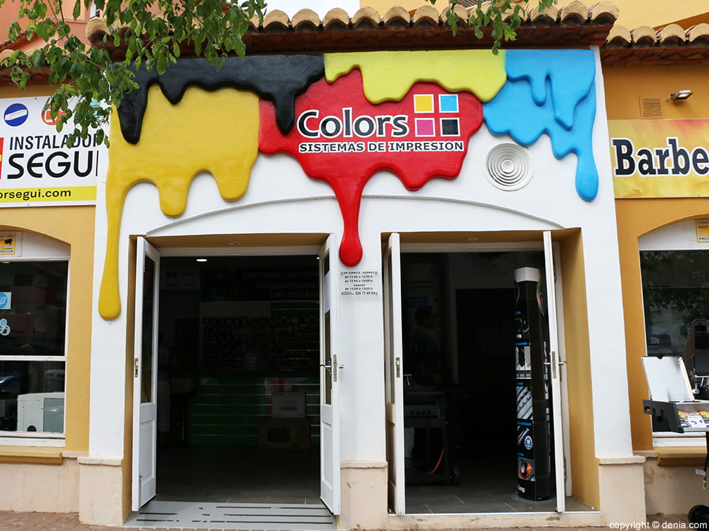 Entry Colors printing systems Jávea