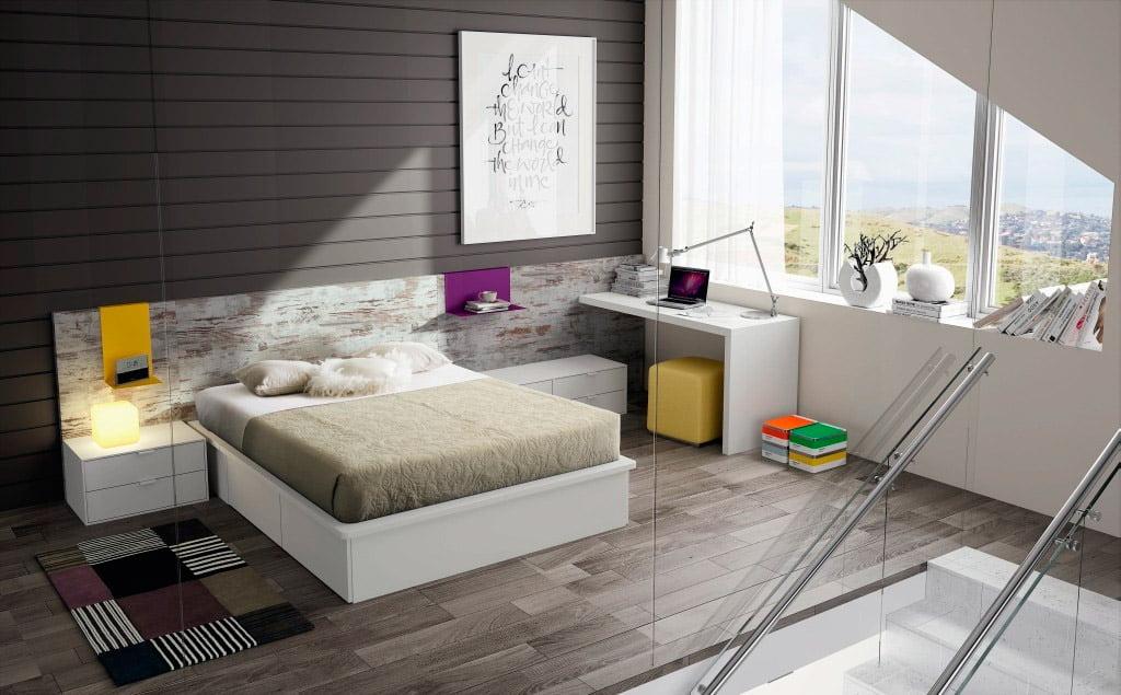 Habitaci n moderna y actual muebles mart nez d for Actual muebles