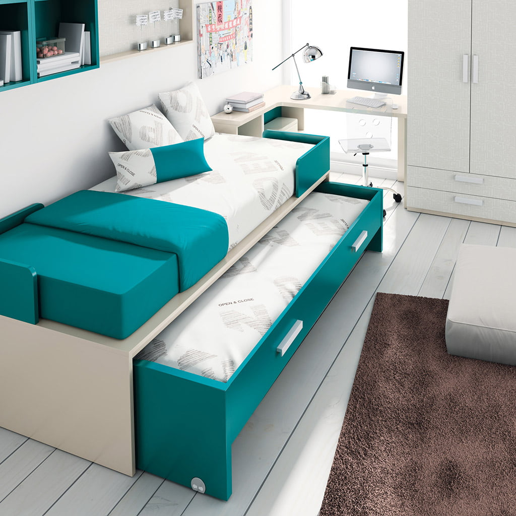 Habitaci N Juvenil Azul Muebles Mart Nez D Nia Com # Muebles Martinez
