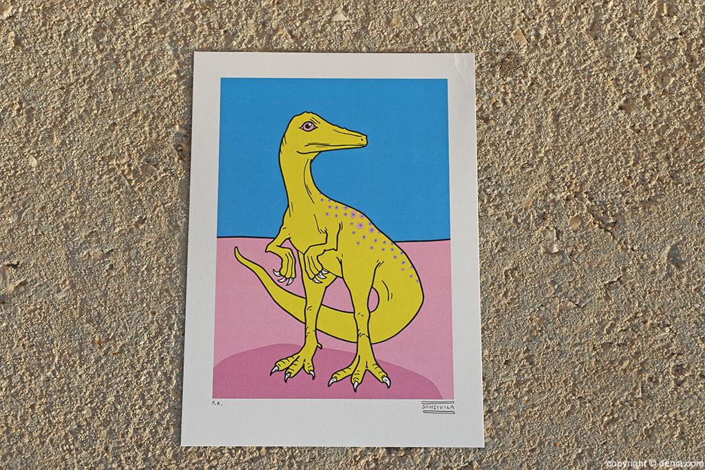 Ilustración dinosaurio San i Vila