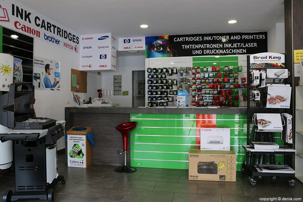 Interior Colors printing systems Jávea