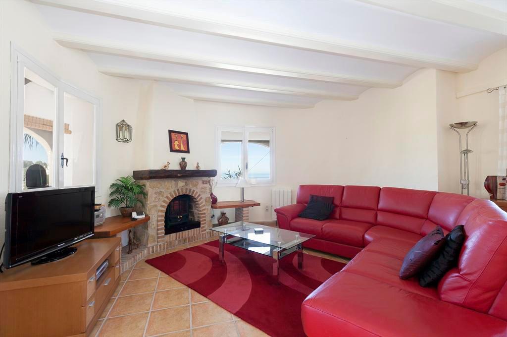 Sala d'estar vila Cacauet Quality Rent a Vila