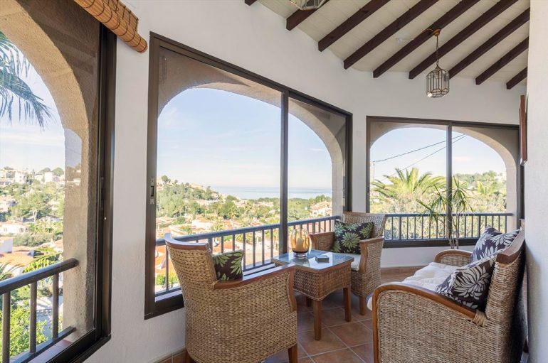 Terrassa i vistes al mar Quality Rent a Vila