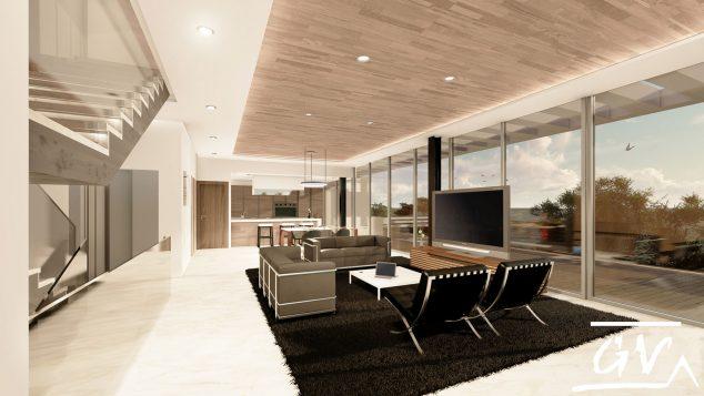 Imagen: Proyecto de interiorismo que busca enlazar interior y exterior. Realizado en Altea (Alicante) - GV Arquitecnia