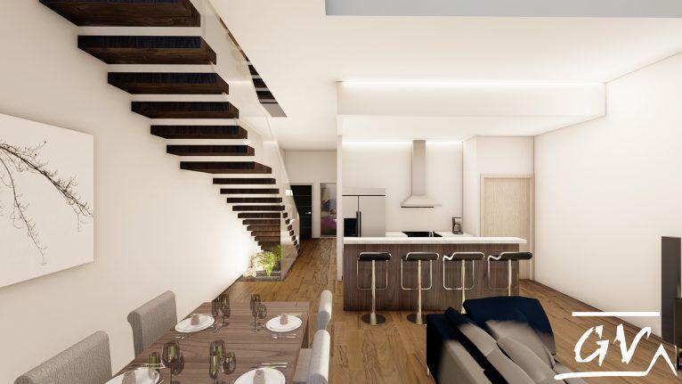 GV Arquitecnia kitchen