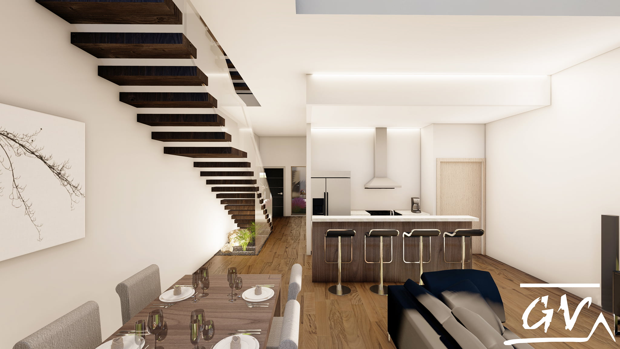 GV Arquitecnia kitchen