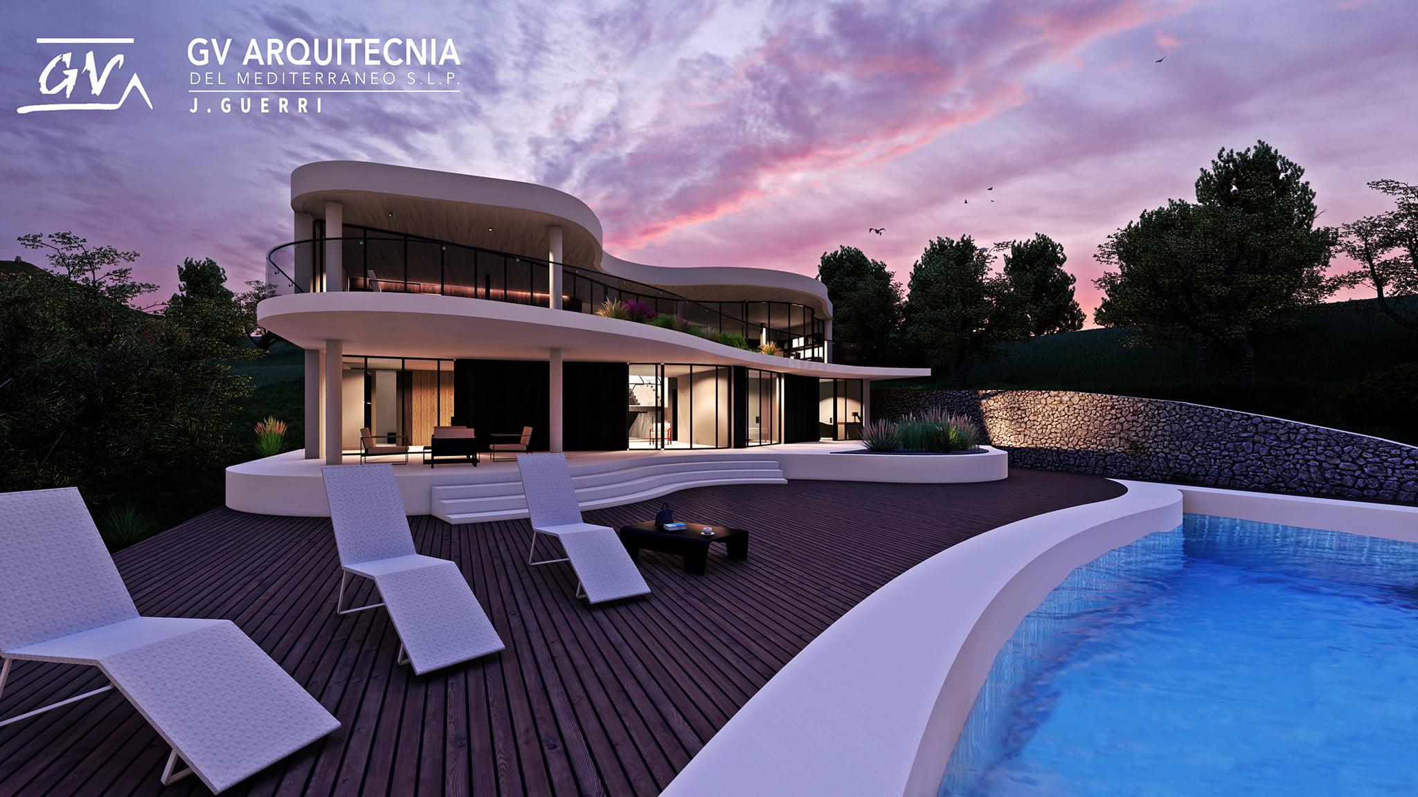Exterior proyecto  GV Arquitecnia