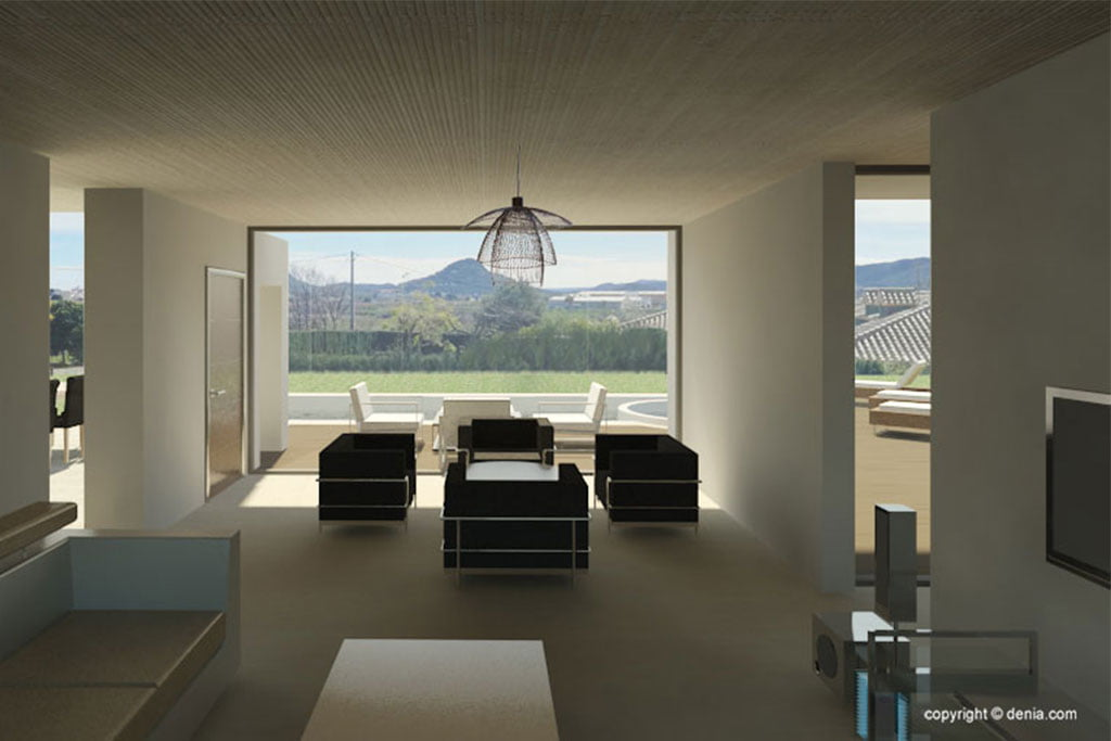 Interior of a new construction project - GV Arquitecnia