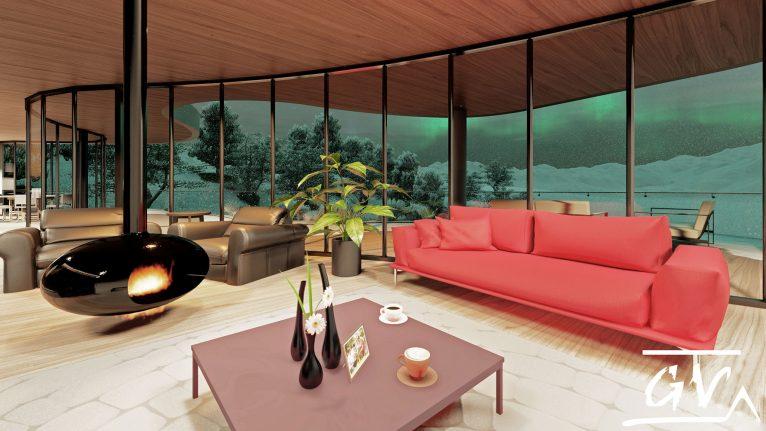Noche de invierno es una vivienda única en Altea - GV Arquitecnia