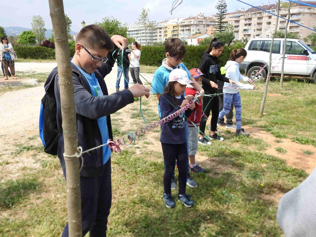 Participantes en la jornada sobre electrocución de aves