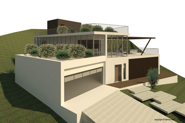 Proyecto de obra nueva - GV Arquitecnia