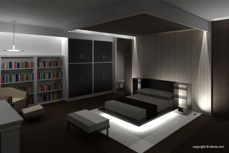 Interior of new construction project - GV Arquitecnia