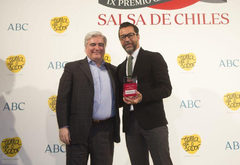 Quique Dacosta recoge el Premio Salsa de Chiles 2017