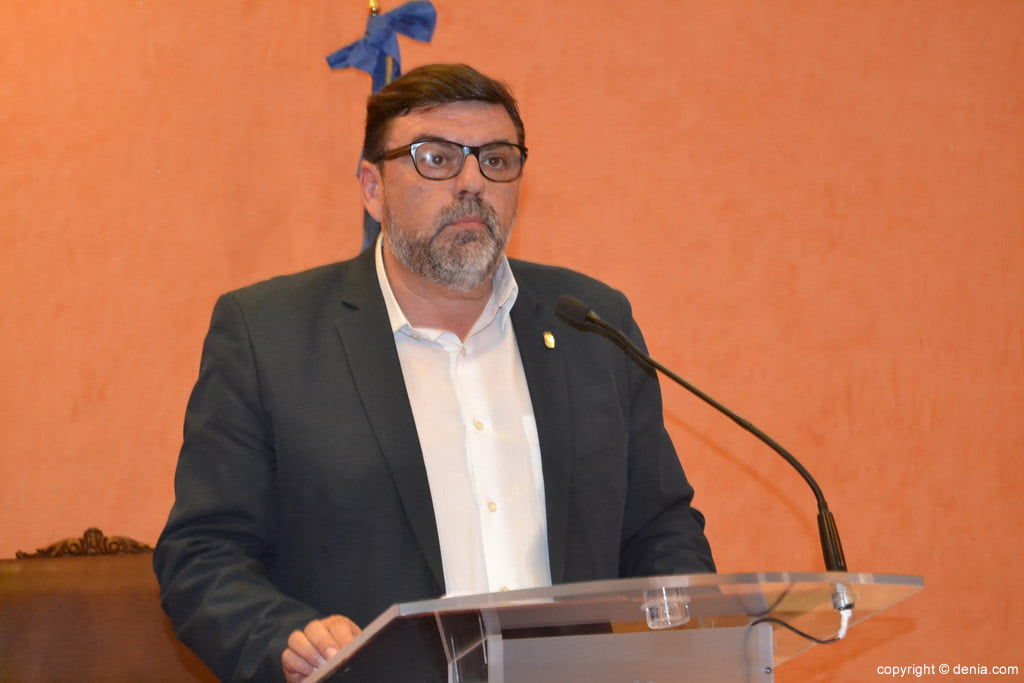 New Fallera Local Board of Dénia - José Vicente Benavente