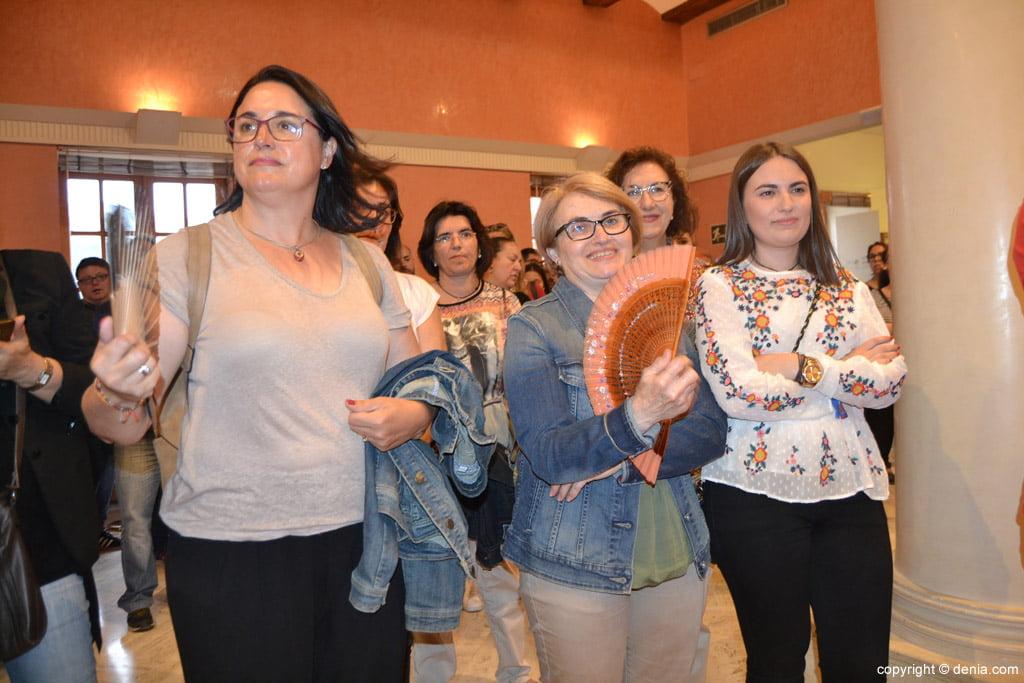 New Fallera Local Board of Denia - Relatives of Benavente