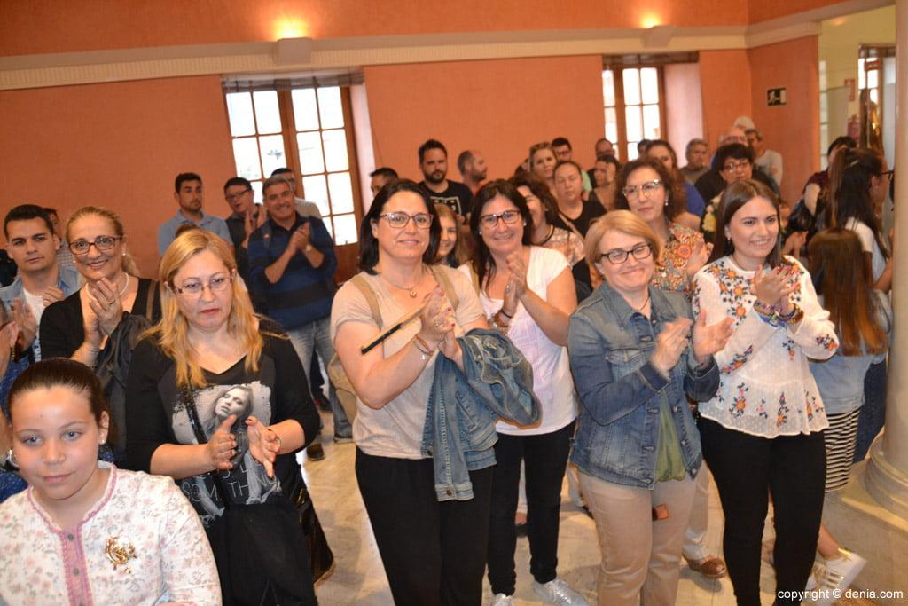 New Local Board Fallera de Dénia - Presentation Assistants