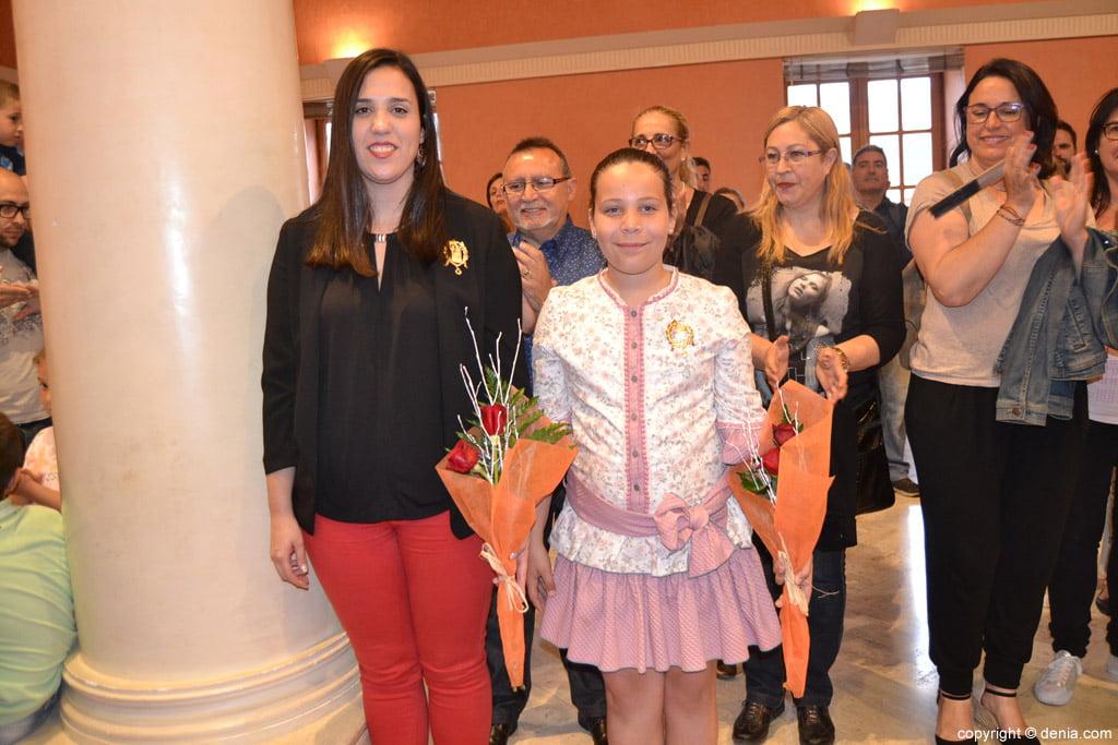 New Local Board Fallera de Dénia - Falleras Mayores de Dénia 2017
