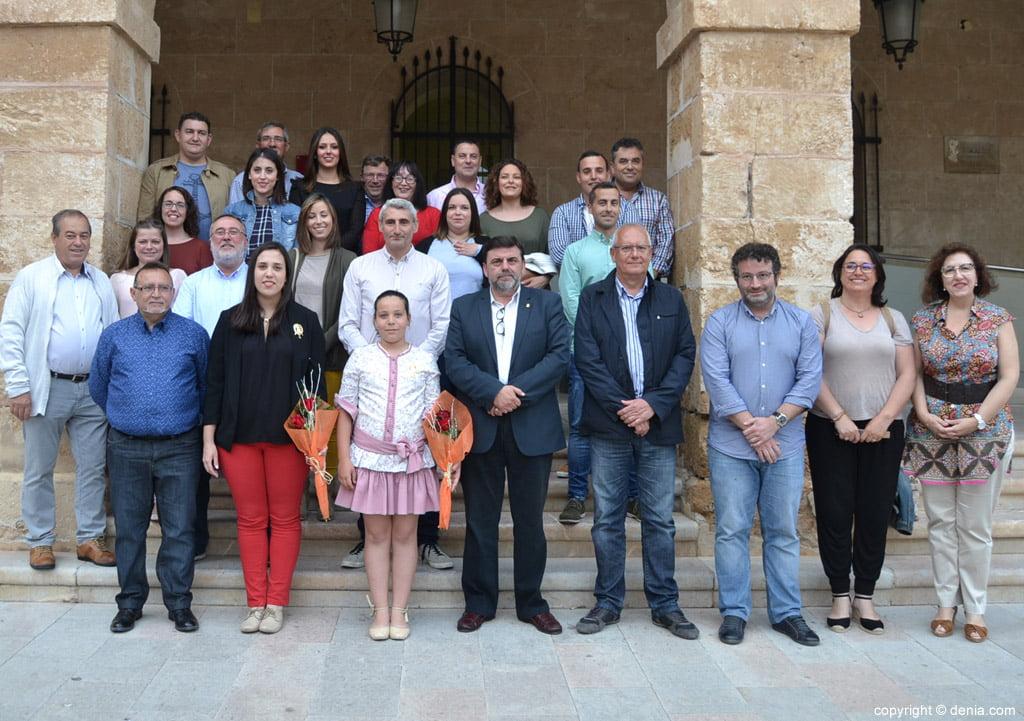 New Fallera Local Board of Denia