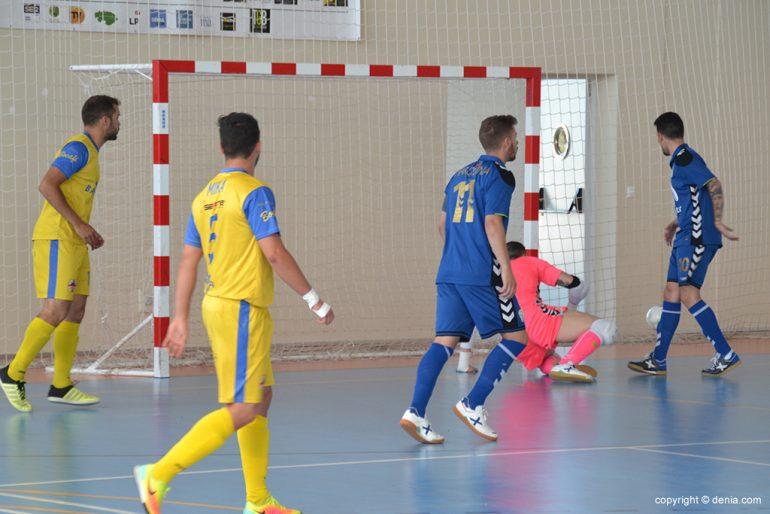 0ae4c573c2 Dénia Futsal vantagem da superioridade numérica para 3 para 2 colocar no  placar