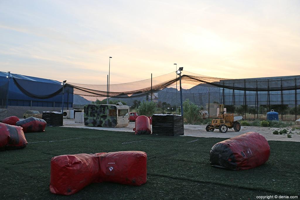 Zona campo Paintball Ondara