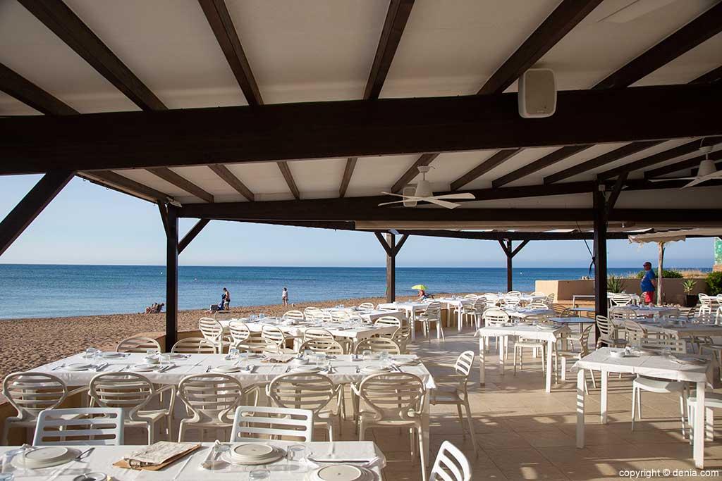 Amplia terraza Restaurant Noguera