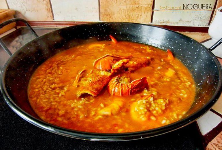 Arroz meloso Restaurant Noguera