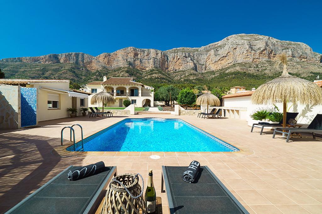 Casa de vacances amb piscina al Montgó - Aguila Rent a Vila