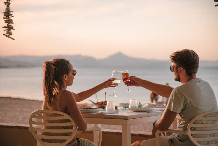Cenar en la playa en Dénia - Restaurant Noguera