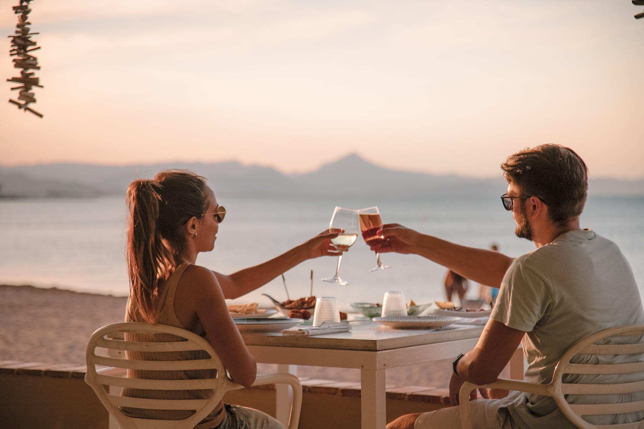 Cenar en la playa en Dénia – Restaurant Noguera