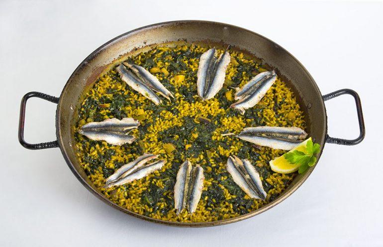 Dónde comer paella de boquerones en Dénia - Restaurant Noguera
