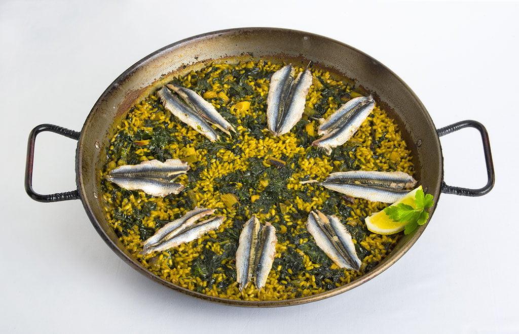 Dónde comer paella de boquerones en Dénia – Restaurant Noguera