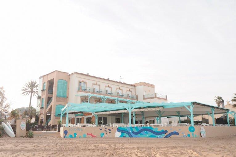 Exterior de Noguera Mar Hotel y de Restaurant Noguera