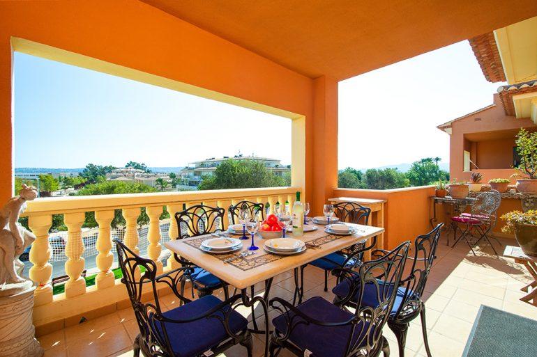 Fantástica terraza Aguila Rent a Villa