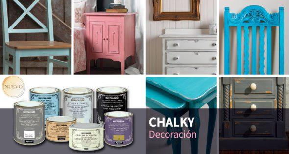 Da una nueva vida a tus muebles con los acabados en efecto tiza de ...