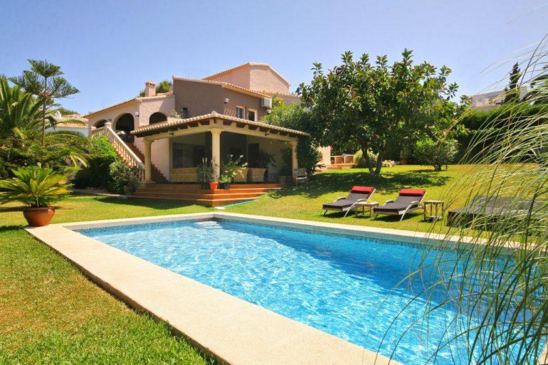 Propiedad de Aguila Rent a Villa inmobiliaria de Xàbia