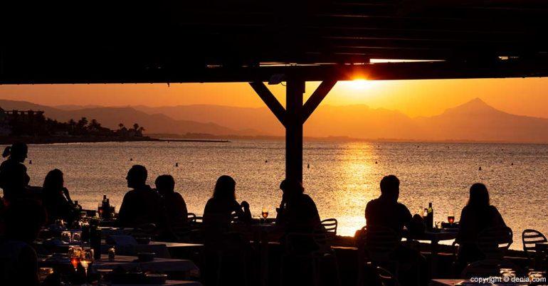 Puesta de sol Restaurant Noguera