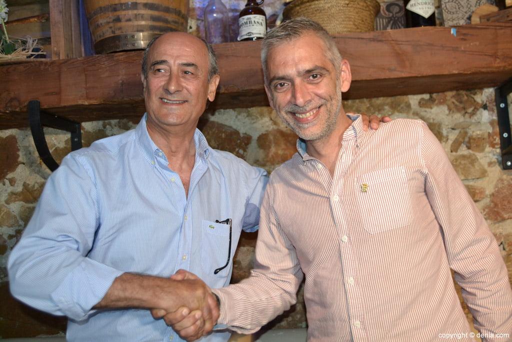 Ramón Bertó and Miguel Ángel Fullana