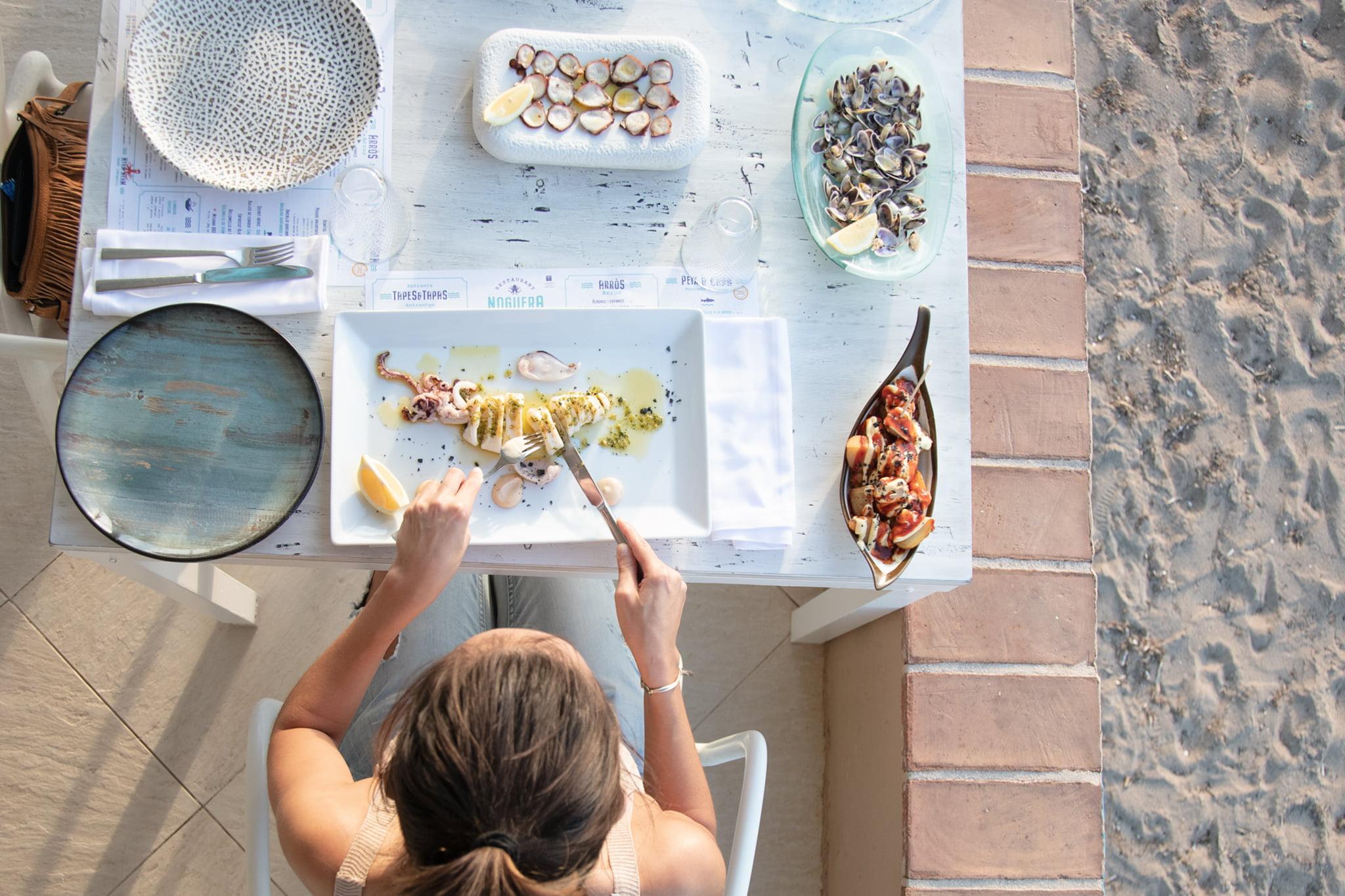 Plato de sepia – Restaurant Noguera