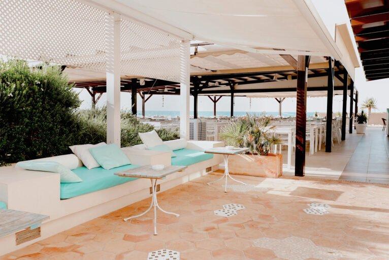 Zona de relax en Restaurant Noguera