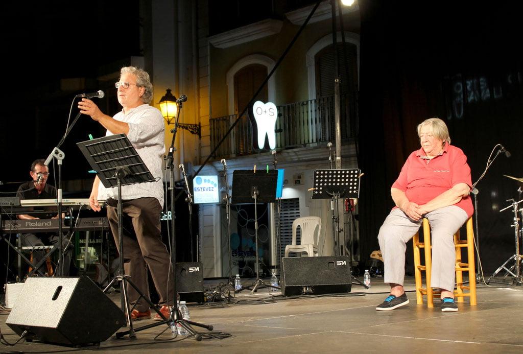 Actuación de Paco Muñoz en Dénia
