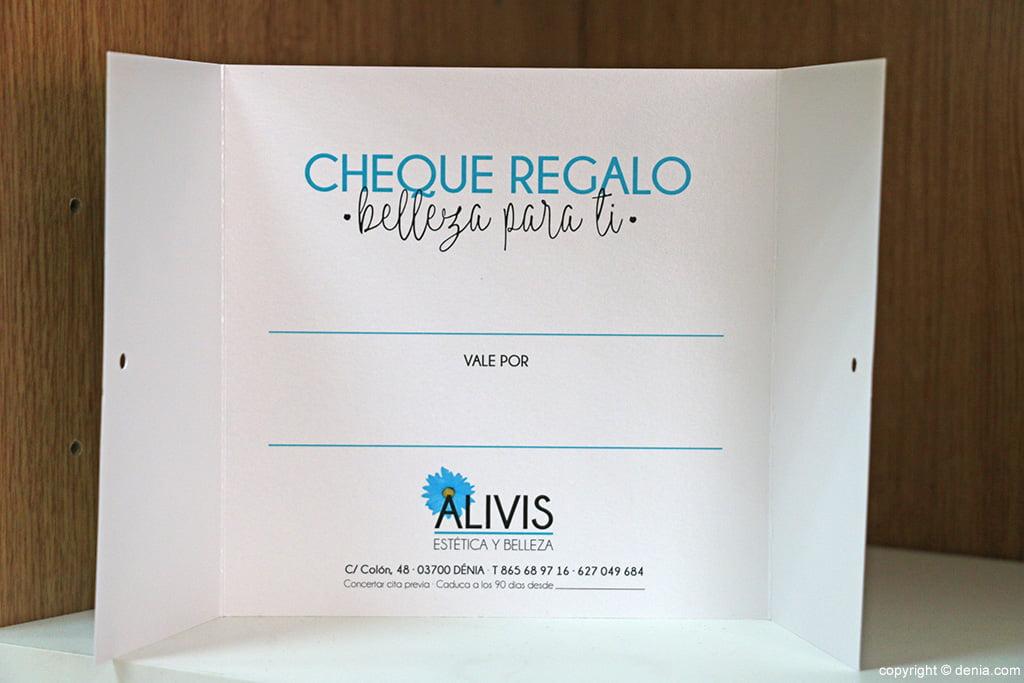 Xec regal Alivis estètica i bellesa