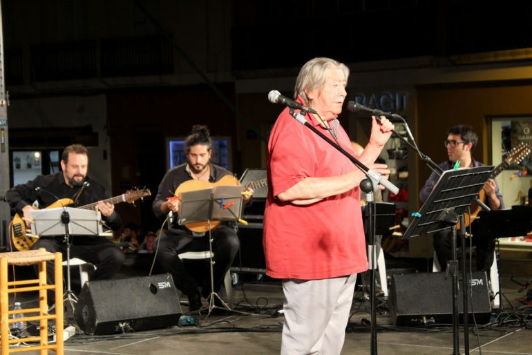 El cantautor Paco Muñoz actuó en Dénia