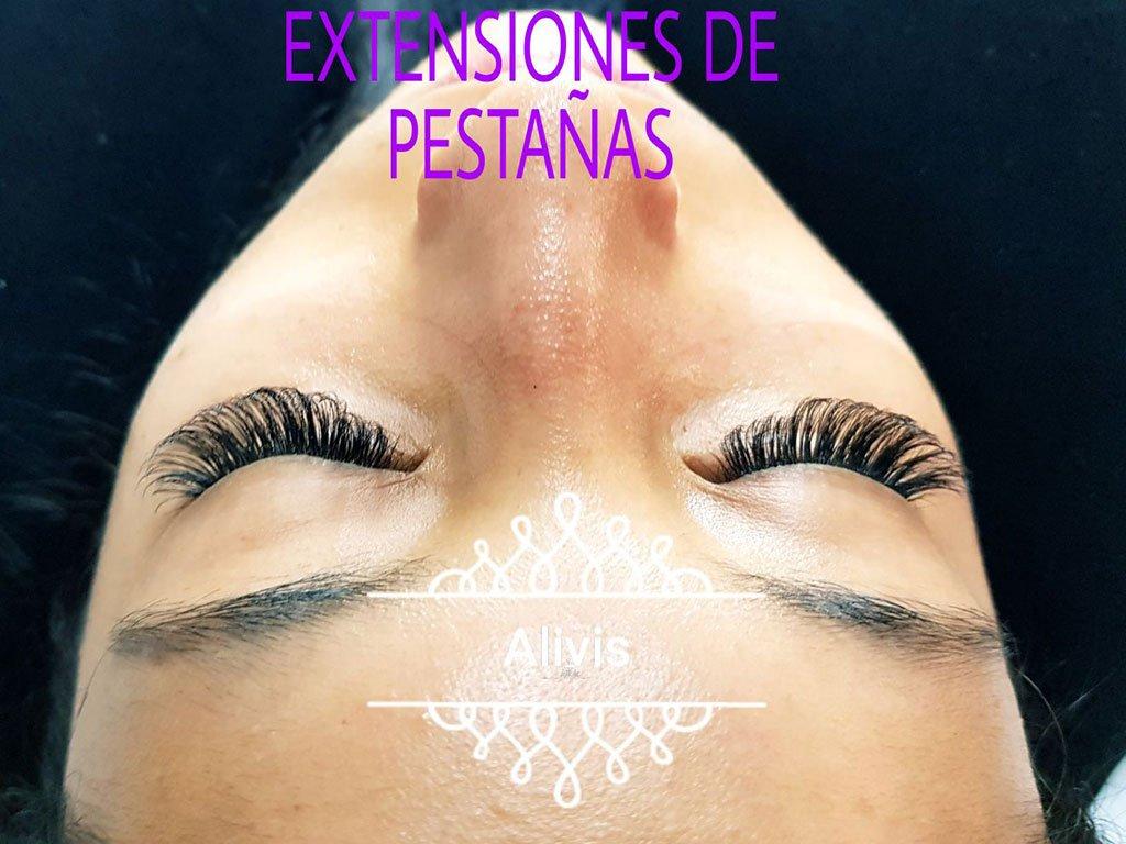 Extensions de pestanyes Alivis estètica i bellesa