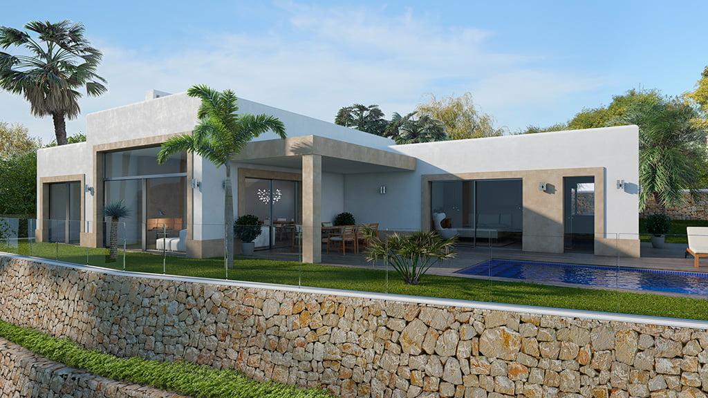 Exterior villa Lucas Graf Projects