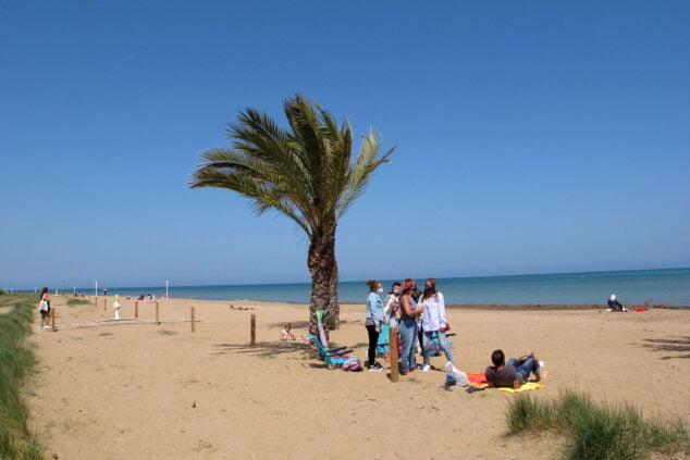 Imagen: Playa de Les Albaranes