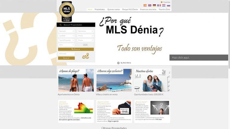 Web MLS Dénia Immobiliàries