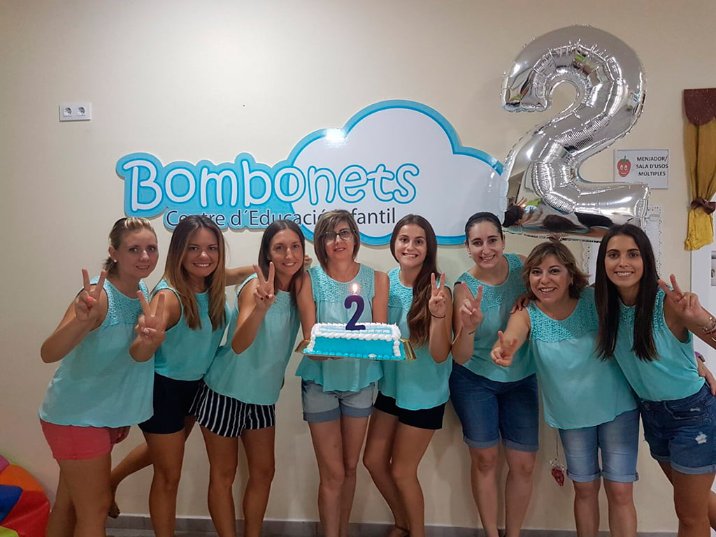 Segundo aniversario Bombonets