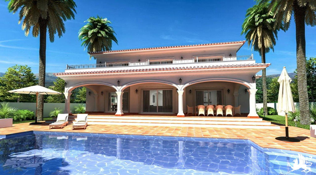 Exterior propietat Stirling Ackroyd Spain