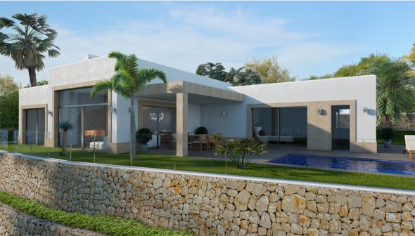 Lucas graf projects makes reality the house of your dreams for Casa jardin wellness center