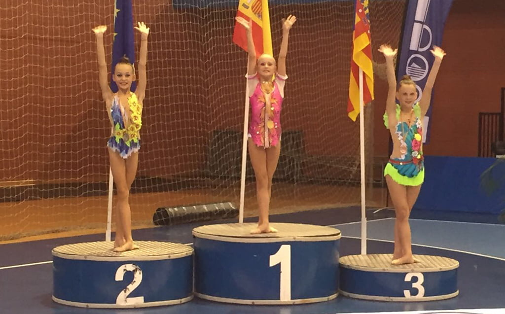 Sasha Ryder campeona Provincial Alevín